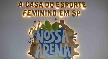 """Nike reforça apoio ao esporte feminino ao patrocinar """"Nossa Arena"""""""