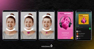 AstraZeneca cria playlists a partir dos batimentos cardíacos