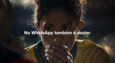WhatsApp reforça conceito de privacidade em jogo de futebol