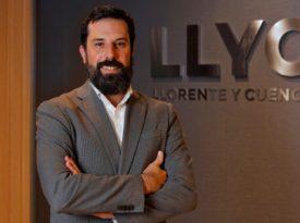 Adrián Chinchilla é o novo diretor executivo do LLYC
