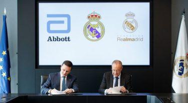 Abbott e Real Madrid apoiarão nutrição infantil