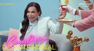 """Gretchen se torna """"Conselheira Desmatrimonial"""" para Amazon"""