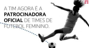 TIM patrocina futebol feminino mineiro
