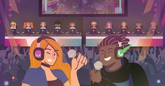 Empresas de comunicação se tornam transmissoras de games